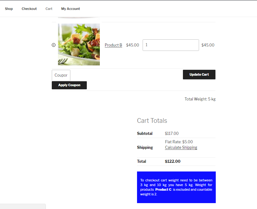 Cart-page-under-min-weight-with excluded-category