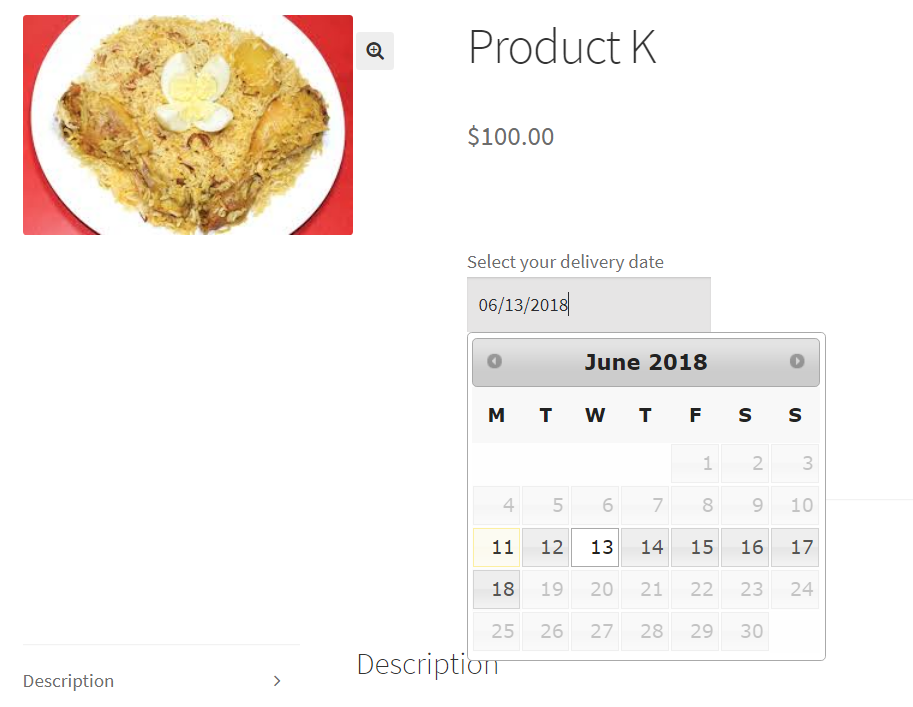 order each product to be delivered on separate dates