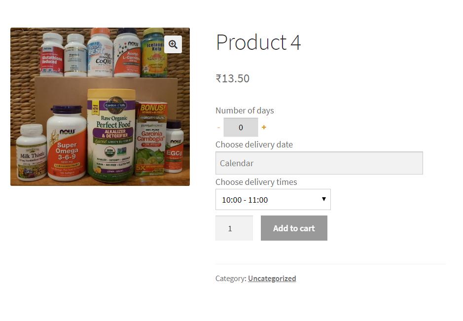 WooCommerce Product Repeat Delivery Dates